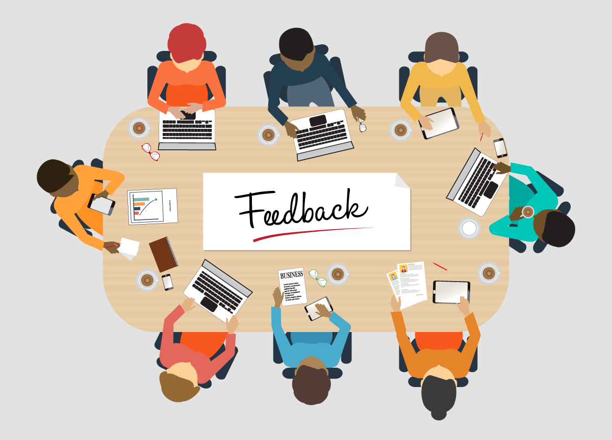 provide good feedback to your graphic designer